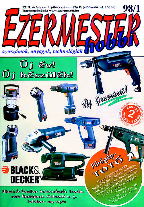 EZERMESTER-Hobbi 1998/1