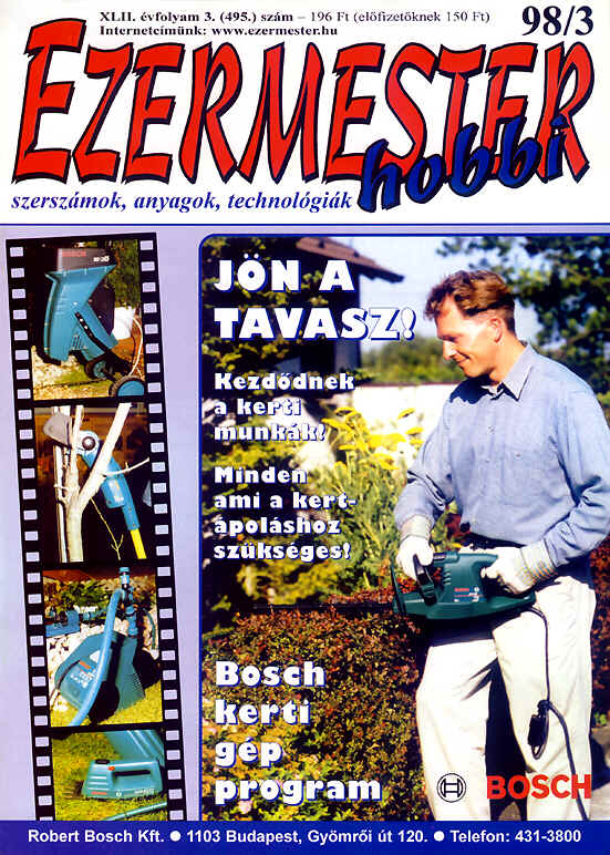 EZERMESTER-Hobbi 1998/3