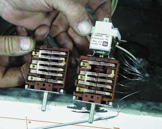 Elekthermax villanytűzhely javítás