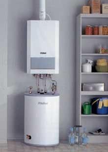 Vaillant készülék használati melegvíz tárolóval