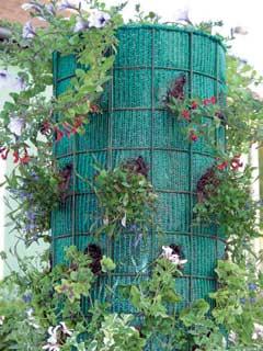 Függőleges virágszínfoltok