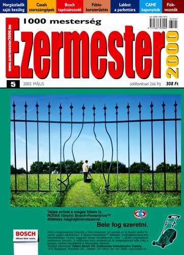 Ezermester 2003 májusi száma