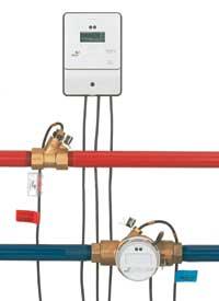 Hőmennyiség mérése a folyadékmennyiség és a hőmérséklet mérésével
