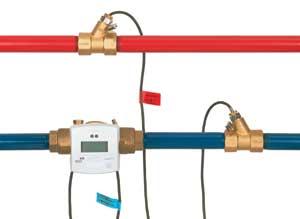 Fűtés és melegvíz hőmennyiség mérése