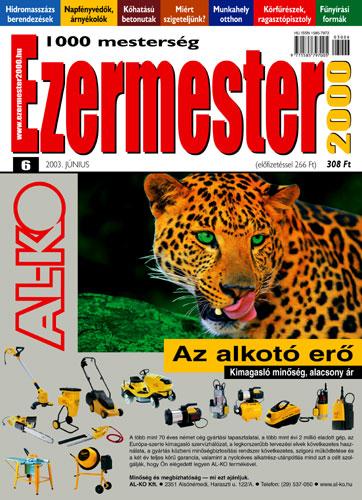 Ezermester 2003 júniusi száma