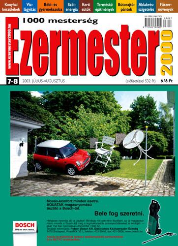Ezermester 2003 júliusi-augusztusi duplaszáma