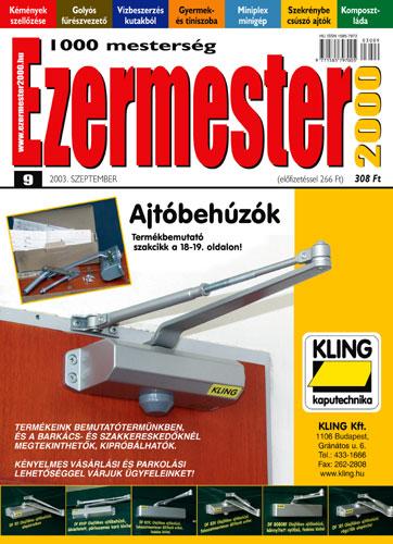 Ezermester 2003 szeptemberi száma