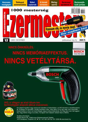 Ezermester 2003 novemberi száma