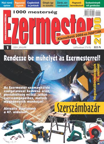 Ezermester 2004 januári száma