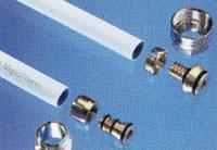 Vízvezeték szerelés műanyag csővel