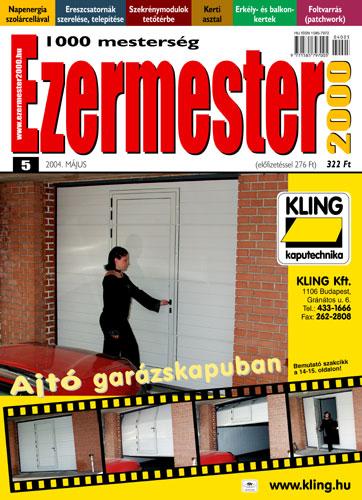 Ezermester 2004 májusi száma