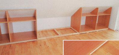 Szekrénymodulok tetőtérbe - Ezermester 2004/5