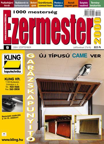 Ezermester 2004 szeptemberi száma