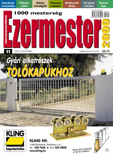 Ezermester 2004 novemberi száma