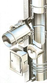 Nedvességtűrő füstgázelvezető rendszer kéményfelújításhoz (Vogel & noot)