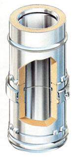 Modul rendszerű hőszigetelt kémény (Vogel & noot)