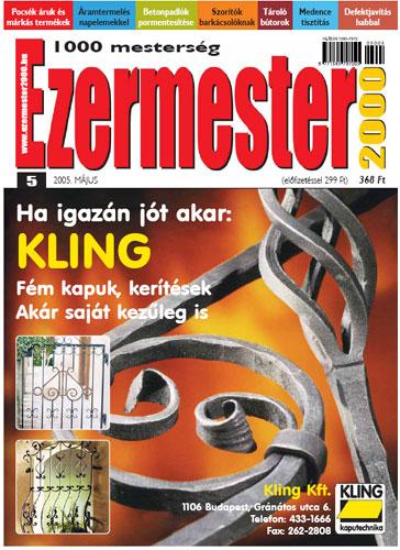 Ezermester 2005 áprilisi száma