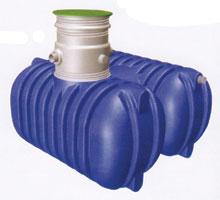 Műanyag víztároló lebúvónyílással