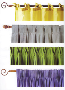 Függönyösszehúzási módok, melyek finomsága és díszítése befolyásolja a függönyözés hangulatát és minőségét