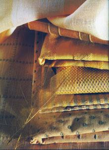 Napfényes hangulatot árasztó sárga anyagcsalád
