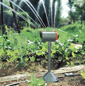 Esőztető öntözőrendszer eleme
