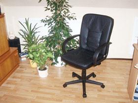 A főnöki széken kényelmes és egészséges a karfa