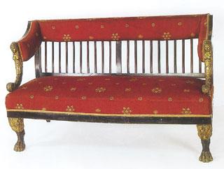 Pesti ülőgarnitúra kanapé, 1810
