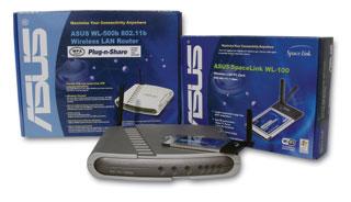 WLAN router és PCMCI kártya