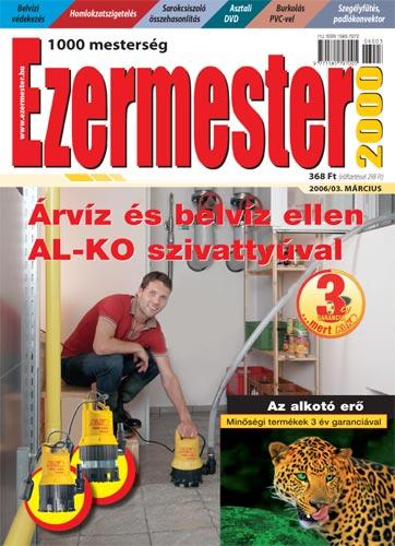 Ezermester 2006. márciusi száma