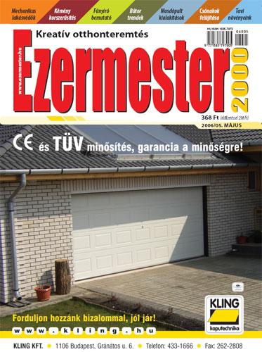Ezermester 2006. májusi száma