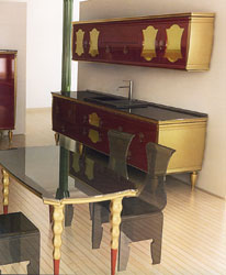 Különleges konyha, barokk elemek újrafogalmazásával