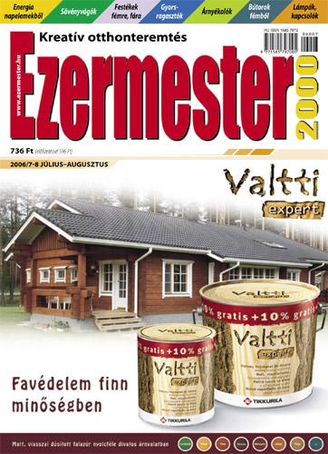Ezermester 2006. július-augusztusi száma