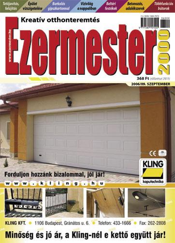 Ezermester 2006. szeptemberi száma