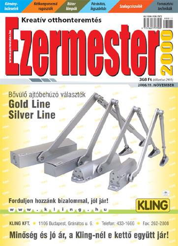 Ezermester 2006. novemberi száma