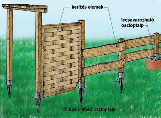 Kerítés elemek olcsón