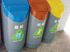 Szelektíven gyűjthető háztartási hulladékok