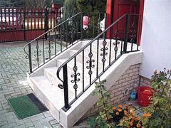 Kovácsolt lépcsőkorlátok