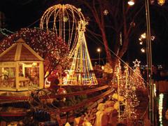 Karácsonyi égők, füzérek