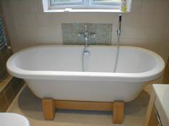 Fürdőkád, zuhanykabin beépítése
