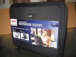 Notebook tartalékakku táska