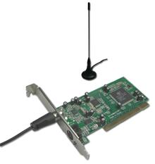 Digitális TV tuner kártya asztali számítógépbe