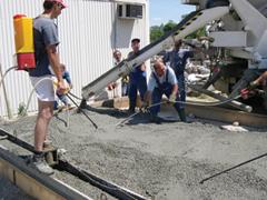 Mennyi betonra van szükségünk?
