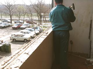 Ablaknyílás teljes letisztítása