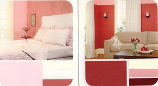 A rózsaszínnel nagyon nőies, lágy és barátságos lesz a lakás.