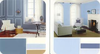 A kék szinte minden árnyalatával távolságtartó, elegáns és tisztaságot sugároz.
