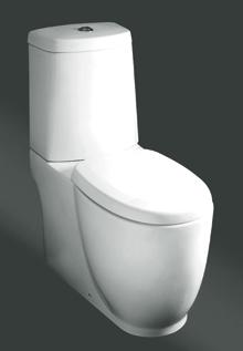 A monoblokkos tartályok közvetlenül a WC csészére csatlakoznak