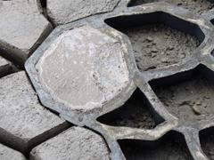 Kerti út betonból