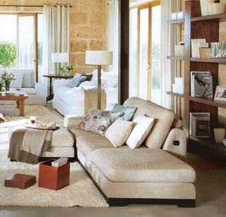 Ez az igazi otthonos otthon. Kényelmesen használható párnák és takarók hívogatják lakóit.