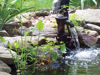 A víz mozgatása, befolyatása jót tesz az oxigén ellátásnak