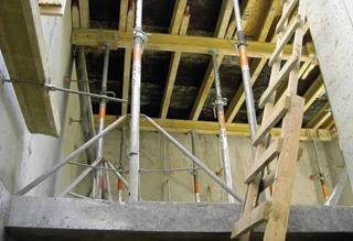 födémzsaluzás, betonozás
